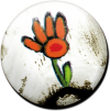 Magnetbutton Rosalies Blume