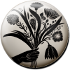 Magnetbutton Blumenstrauß