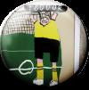 Magnetbutton Borussia