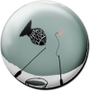 Magnetbutton Fisch