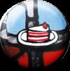 Magnetbutton Kuchen
