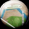 Magnetbutton Spreebootsfahrt