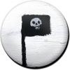 Magnetbutton T-Fahne
