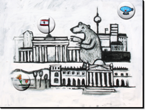 Magnetbrett Berlin