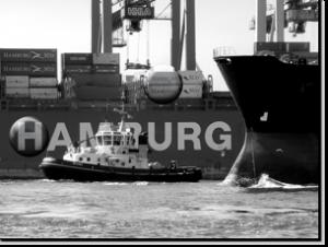 Magnetbrett Hafen Hamburg SW