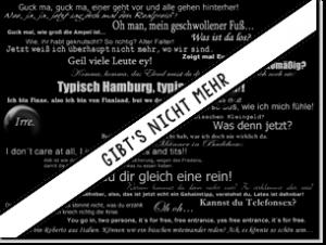 Magnetbrett Reden auf St.Pauli